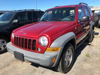 Used 2006 Jeep Liberty Sport for sale in Pickering, ON
