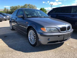 Used 2003 BMW 3 Series 330XI for sale in Pickering, ON
