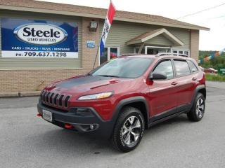 Used 2016 Jeep Cherokee Trailhawk for sale in Corner Brook, NL
