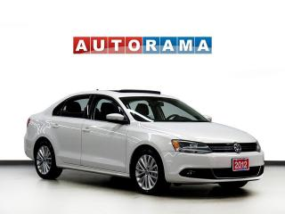 Used 2012 Volkswagen Jetta TDI NAVIGATION HIGHLINE LEATHER SUNROOF ALLOYS for sale in North York, ON