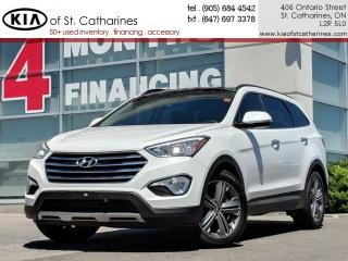 Used 2016 Hyundai Santa Fe XL Limited   Navigation   Blindspot Alert   Leather for sale in St Catharines, ON