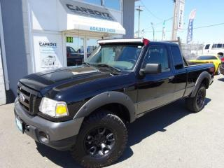 Used 2009 Ford Ranger FX4/Off-Road 4x4, SuperCab, Auto, Leather for sale in Langley, BC