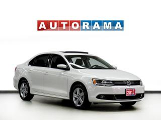 Used 2013 Volkswagen Jetta TDI COMFOTLINE SUNROOF ALLOY WHEELS for sale in Toronto, ON