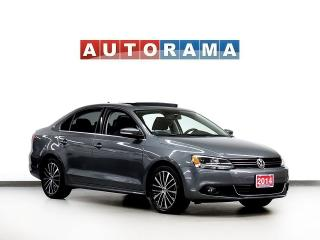 Used 2014 Volkswagen Jetta TDI HIGHLINE LEATHER SUNROOF ALLOYS for sale in North York, ON