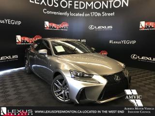 Used 2017 Lexus IS 300 F Sport Series 3 for sale in Edmonton, AB
