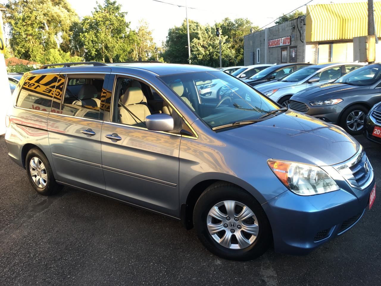 2008 Honda Odyssey EX/ POWER DOORS/ ALLOYS/ POWER GROUP/ LOADED!