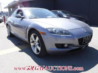 Used 2005 Mazda RX-8 GT 4D COUPE for sale in Calgary, AB