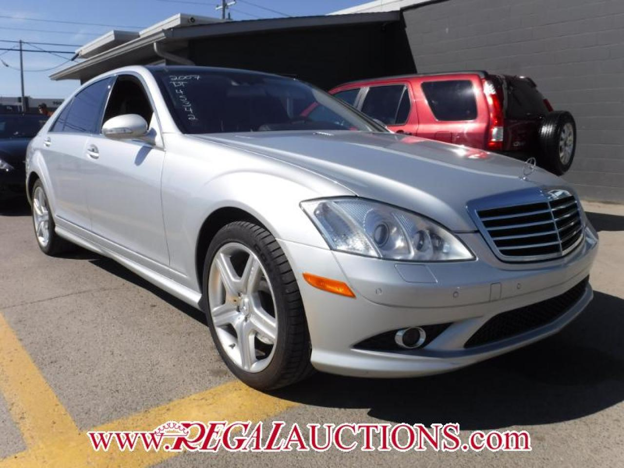 Photo of Silver 2007 Mercedes-Benz S-CLASS S550V 4D SEDAN 4MATIC