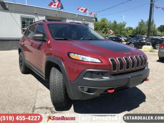 Used 2016 Jeep Cherokee Trailhawk | NAV | LEATHER | PANO ROOF | CAM for sale in London, ON