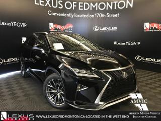 Used 2017 Lexus RX 350 F Sport Series 3 for sale in Edmonton, AB