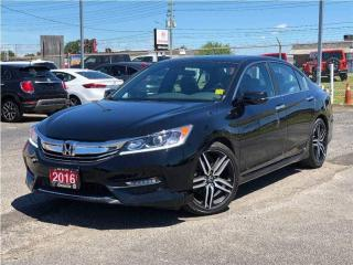 Used 2016 Honda Accord Sport**Sunroof**Back UP Camera**Bluetooth** for sale in Mississauga, ON