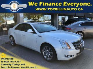 Used 2008 Cadillac CTS 3.6L Panoramic Sunroof, Pearl White for sale in Concord, ON