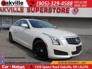 Used 2013 Cadillac ATS 2.0L TURBO LUXURY | B/T | B\U CAM | HEATED SEATS | for sale in Oakville, ON