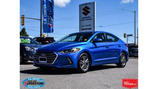 Used 2017 Hyundai Elantra GL ~Heated Seats + Wheel ~Backup Cam ~Bluetooth for sale in Barrie, ON