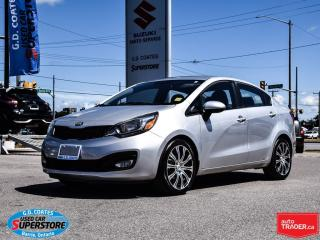Used 2013 Kia Rio EX ~Heated Seats ~Power Moonroof ~Alloy Wheels for sale in Barrie, ON