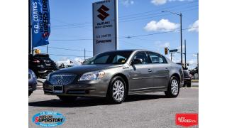 Used 2011 Buick Lucerne CXL ~Power/Heated Leather Seats ~Memory Seat for sale in Barrie, ON