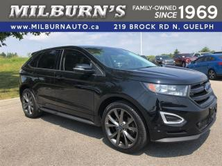 Used 2016 Ford Edge Sport AWD / Nav. / Pano Roof for sale in Guelph, ON