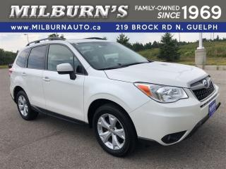 Used 2015 Subaru Forester i Touring w/Tech Pkg for sale in Guelph, ON