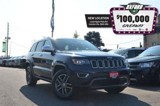 Used 2017 Jeep Grand Cherokee Limited - V6, 4x4, Sunroof, Bluetooth, Back Up Cam for sale in London, ON