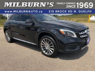 Used 2018 Mercedes-Benz GLA 250 4Matic Premium and Sport PKG for sale in Guelph, ON