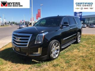 Used 2016 Cadillac Escalade LUXURY COLLECTION for sale in Ottawa, ON