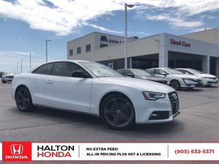 Used 2013 Audi A5 2.0T for sale in Burlington, ON