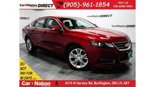 Used 2015 Chevrolet Impala LT 1LT  TOUCH SCREEN  POWER DRIVERS SEAT  for sale in Burlington, ON