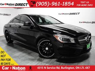 Used 2014 Mercedes-Benz CLA-Class 250 4MATIC  SUNROOF  BACK UP CAMERA  for sale in Burlington, ON