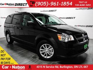 Used 2017 Dodge Grand Caravan SXT Plus| DVD| STOW N' GO| LOW KM'S| for sale in Burlington, ON