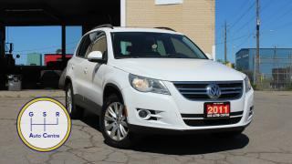Used 2011 Volkswagen Tiguan AUTOMATIC | PANO ROOF |  LOW KM | EVERYONE GETS FINANCED! for sale in Hamilton, ON