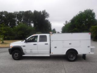 Used 2009 Dodge Ram 5500 Quad Cab 4WD Diesel Service Truck for sale in Burnaby, BC