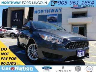 Used 2016 Ford Focus SE | REAR CAMEA | HEATED SEATS | LOW KM | for sale in Brantford, ON
