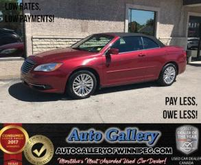 Used 2013 Chrysler 200 Touring Convertible for sale in Winnipeg, MB