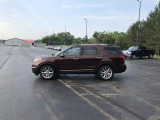 Used 2012 Ford EXPLORER LIMITED FWD for sale in Cayuga, ON