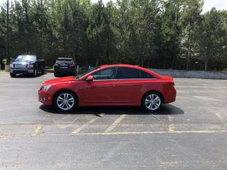 Used 2014 CHEV CRUZE 2LT for sale in Cayuga, ON
