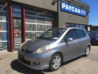Used 2008 Honda Fit Sport for sale in Kitchener, ON