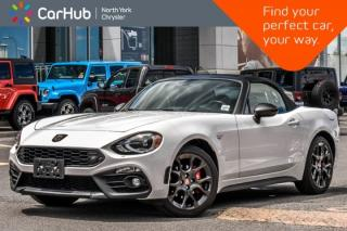 Used 2017 Fiat 124 Spider Abarth|BOSE|Backup_Cam|BlindSpot|Heat Frnt.Seats|17