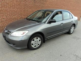 Used 2005 Honda Civic Sdn SE AUTO 4 DOOR A/C for sale in Oakville, ON