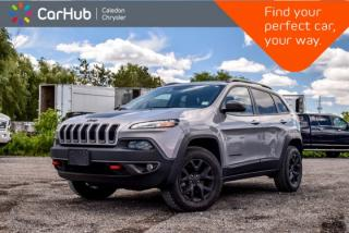 Used 2016 Jeep Cherokee Trailhawk 4x4|Navi|Pano Sunroof|Backup Cam|Bluetooth|R-Start|Heated Front Seats|17