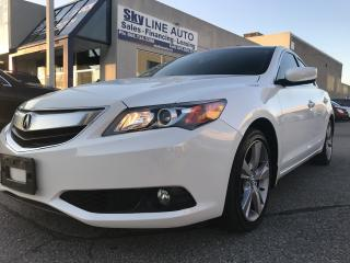 Used 2015 Acura ILX CAMERA|BLUETOOTH|LEATHER|ALLOY WHEELS|CERTIFIED for sale in Concord, ON