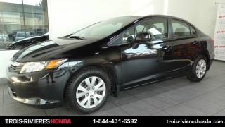 Used 2012 Honda Civic LX Garantie Global 7ans/130 000km for sale in Trois-rivieres, QC