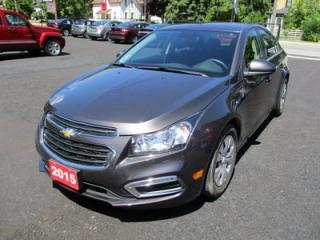 Used 2015 Chevrolet Cruze POWER EQUIPPED 1-LT MODEL 5 PASSENGER 1.4L - TURBO.. CD/AUX/USB INPUT.. KEYLESS ENTRY.. REMOTE START.. for sale in Bradford, ON