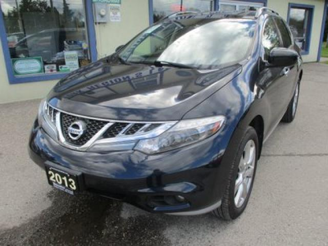 2013 Nissan Murano LOADED PLATINUM MODEL 5 PASSENGER 3.5L - V6.. AWD.. LEATHER.. HEATED SEATS.. NAVIGATION.. DUAL SUNROOF.. BACK-UP CAMERA.. BLUETOOTH..