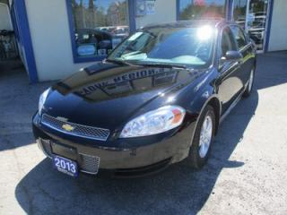 Used 2013 Chevrolet Impala POWER EQUIPPED LS MODEL 5 PASSENGER 3.6L - V6.. CD/AUX INPUT.. KEYLESS ENTRY.. for sale in Bradford, ON