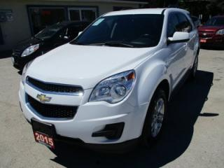 Used 2015 Chevrolet Equinox FUEL EFFICIENT 1-LT MODEL 5 PASSENGER 2.4L - ECO-TEC.. CD/AUX INPUT.. BACK-UP CAMERA.. KEYLESS ENTRY.. for sale in Bradford, ON