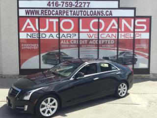 Used 2013 Cadillac ATS 3.6L Performance ATS-ALL CREDIT ACCEPTED for sale in Scarborough, ON