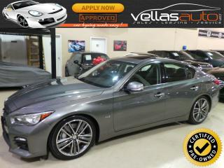 Used 2014 Infiniti Q50 SPORT| 3.7| AWD| NAVI| R/CAMERA for sale in Woodbridge, ON