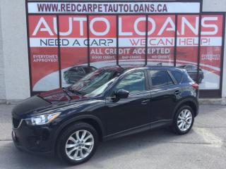 Used 2014 Mazda CX-5 GT-ALL CREDIT ACCEPTED for sale in Scarborough, ON