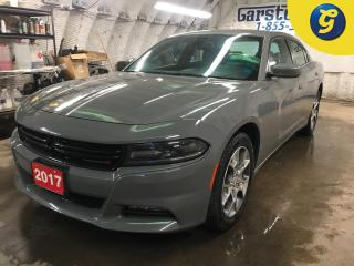 Used 2017 Dodge Charger SXT*AWD*NAVIGATION READY*8.4 INCH TOUCH SCREEN/UCONNECT*ALPINE AUDIO*PHONE CONNECT*REMOTE START*PASSIVE ENTRY/KEYLESS*LED FOG LIGHTS/DAYTIME RUNNING L for sale in Cambridge, ON