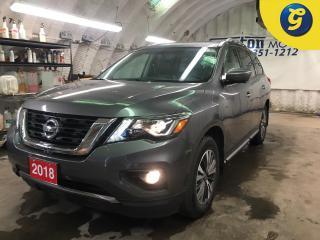 Used 2018 Nissan Pathfinder SL Premium * 4WD * Navigation * Leather * Panoramic Sunroof * Power Lift-Gate * Bose Audio * Heated Seats/Rear Seats/Steering Wheel/Mirrors * Hill Dec for sale in Cambridge, ON